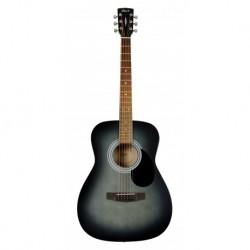 CORT Guitare Folk AF510 NOIR PORES OUVERTS