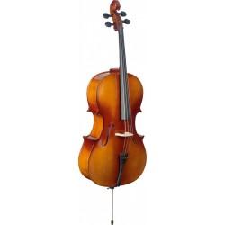 Stagg VNC-3/4L - Violoncelle 3/4 en érable avec housse