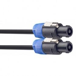 Stagg SSP2SS25 - Câble de haut-parleur SPK/SPK 2 m 2x2.5mm