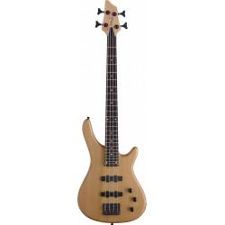"""Stagg BC300 3/4 NS - Guitare électrique basse """"Fusion"""" 4 cordes finition naturelle satinée"""