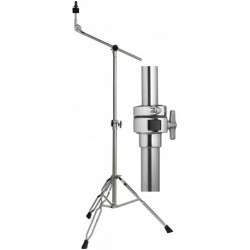 Stagg LBD-50S - Pied de cymbale perche 1 tube double embase