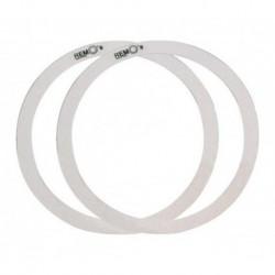 """Remo RO-0014-00 - 2 Rem-o-ring 14"""" (1"""" et 1""""1/2) pour Tom et Caisse claire"""