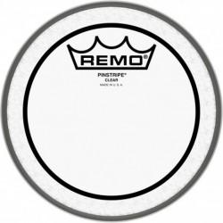 """Remo PS-0306-00 - Peau Pinstripe transparente 6"""" pour Tom"""