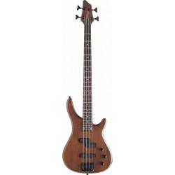 """Stagg BC300-WS - Guitare basse électrique """"Fusion"""" 4 cordes Walnut Satin"""