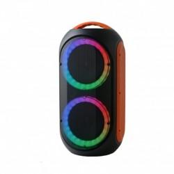 Power acoustics GOZIK LED ORANGE - Sono portable à Led