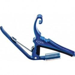 Kyser KG6UA - Capodastre guitare acoustique blue