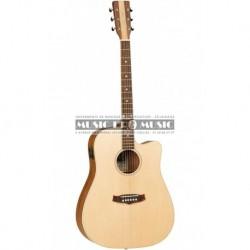 Tanglewood TNDCE - Guitare électro-acoustique épicéa massif