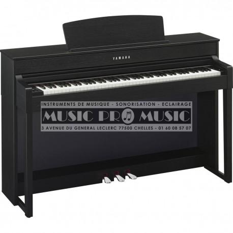 Yamaha CLP-545B - Piano numérique noir satiné avec meuble