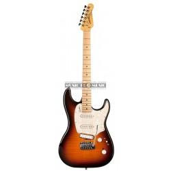 Godin 40889 - Guitare électrique Progressive plus Bst HG MN