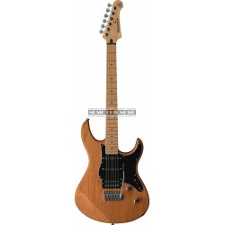 Yamaha GPA112VMXYNS - Guitare électrique Pacifica Naturel Pickguard noir