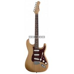 Stagg S300-NS - Guitare électrique naturel satiné forme stratocaster