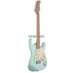Stagg SES50M-SNB - Guitare électrique bleu ciel forme stratocaster