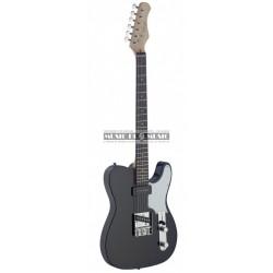 Stagg SET-CST-BK - Guitare électrique noire forme stratocaster