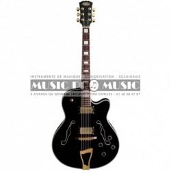 Stagg A300-BK - Guitare jazz demi caisse noire