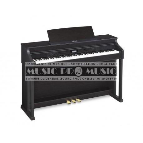Casio AP-650BK - Piano numérique noir satiné avec meuble