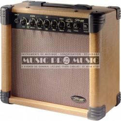 Stagg 15-AA-DR - Ampli combo pour guitare acoustique 15w
