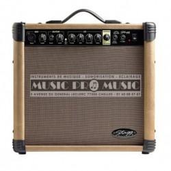 Stagg 40-AA-R-EU - Ampli combo pour guitare acoustique 40w