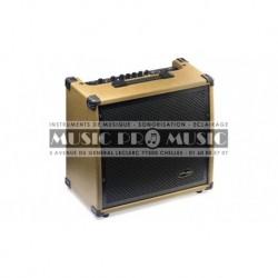 Stagg 60-AA-R-EU - Amplificateur acoustique avec réverbe à ressort 60 watts