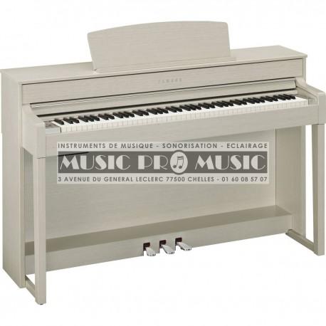 Yamaha CLP-545WA - Piano numérique ivoire avec meuble
