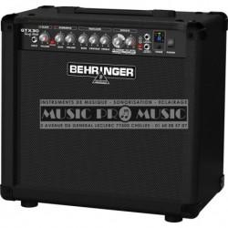 Behringer GTX30 - Ampli combo pour guitare electrique à modélisation 30w