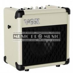Vox MINI5-IV - Ampli combo pour guitare electrique 5w + Boite à rythmes Ivoire