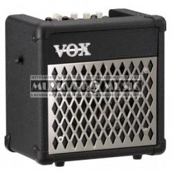 Vox MINI5-RM - Ampli combo pour guitare electrique 5w + Boite à rythmes Grille métal