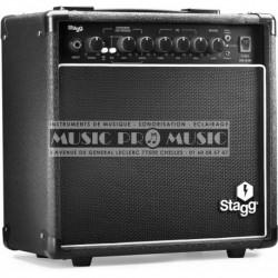 Stagg STA15-DR-EU - Ampli combo pour guitare electrique 15w reverb numérique