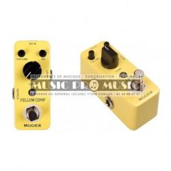 Mooer YELLOWCOMP - Pédale compresseur Yellow Comp