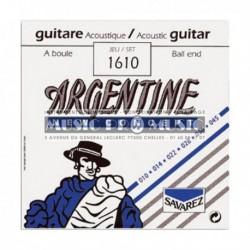 Argentine 1610 - Jeu de cordes 10-45 pour guitare folk et manouche à boule
