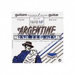 Argentine 1610MF - Jeu de cordes 11-46 pour guitare folk et manouche à boule
