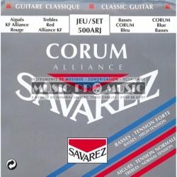 Savarez 500ARJ - Jeu de cordes Corum Tension Mixte pour guitare classique