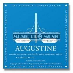 Augustine BLEU - Jeu de cordes Tension Forte pour guitare classique