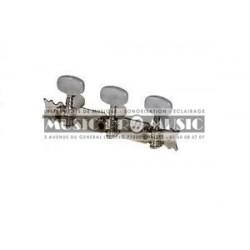 Fire & Stone 545210 - Mécaniques Chrome pour guitare classique