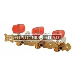 Fire & Stone 545324 - Mécaniques Ambre avec lyre pour guitare classique