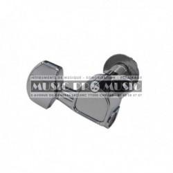 Fire & Stone 545810 - Mécaniques Chrome 6 gauches pour guitare acoustique et électrique