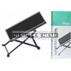 Stagg FOS-A1-BK - Repose-pied en métal pour guitaristes