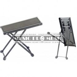 Stagg FOS-B1-BK - Repose-pied en métal pour guitaristes