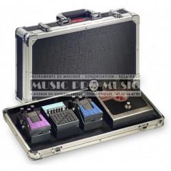 Stagg UPC-424 - Coffre de transport pour pédales d'effets guitare (pédales non inclus)