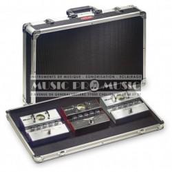 Stagg UPC-535 - Coffre de transport pour pédales d'effets guitare (pédales non inclus)