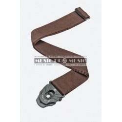 D'Addario SPL209 - Courroie lock marron