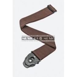 D'Addario PWSPL209 - Courroie lock marron