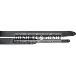 Stagg SL-12-5-BLK - Courroie cuir souple noir