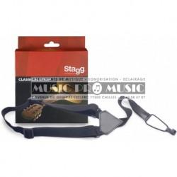 Stagg SNCL001-BK - Bandoulière nylon p. guitares classiques