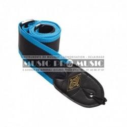 Rotosound STR8 - Courroie nylon rayé bleu