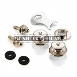 Loxx LOX136-79 - Straps locks noirs pour guitare électrique