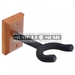 Support guitare mural base en bois