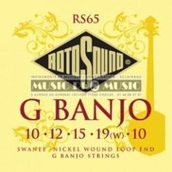 Rotosound RS65 - Jeu de 5 cordes à boucle pour banjo