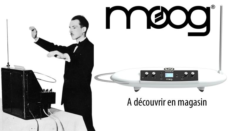 Venez découvrir le Moog Theremini en magasin