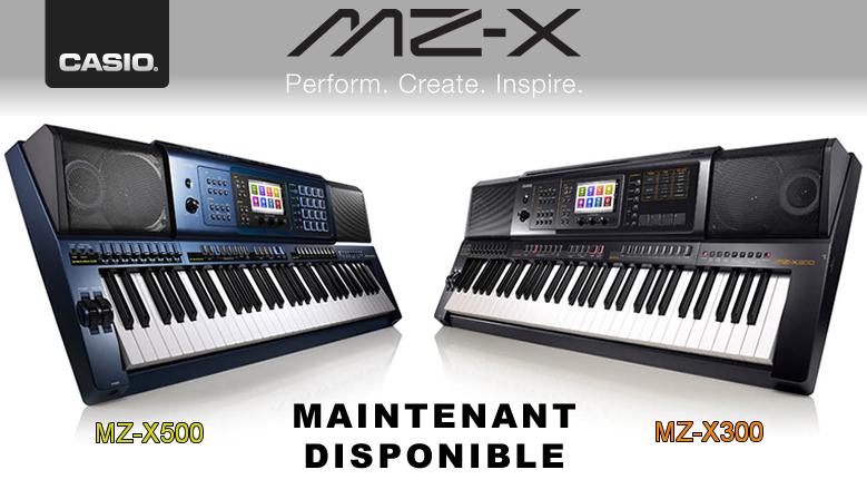 Casio MZ-X300 et MZ-X500